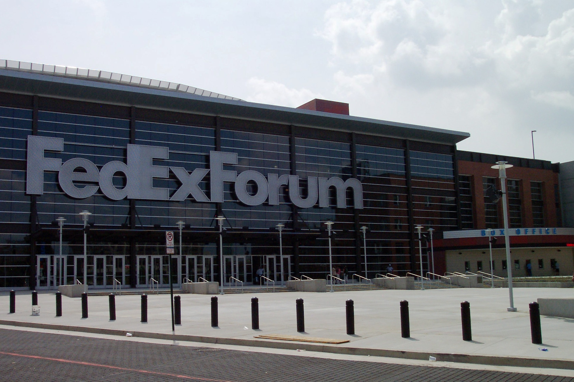 FedExForum, home of the Memphis Grizzlies