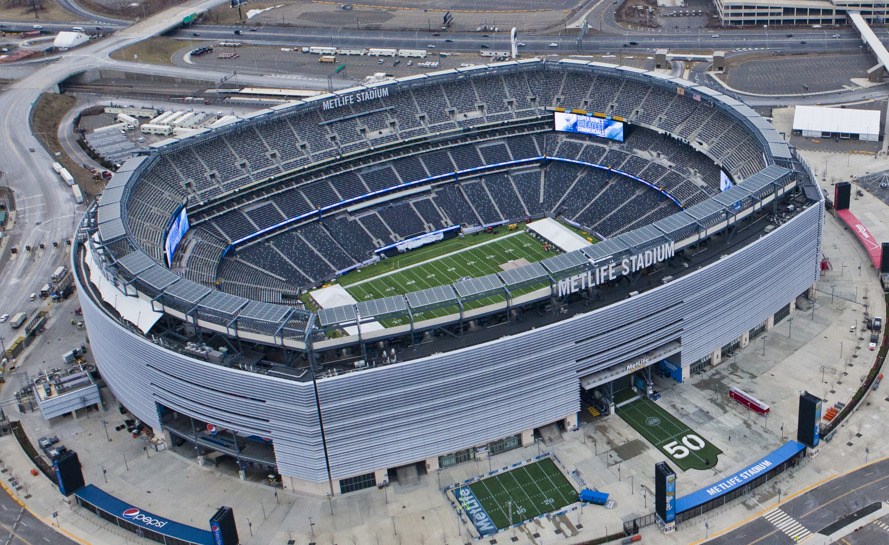 MetLife Stadium, home of the New York Jets