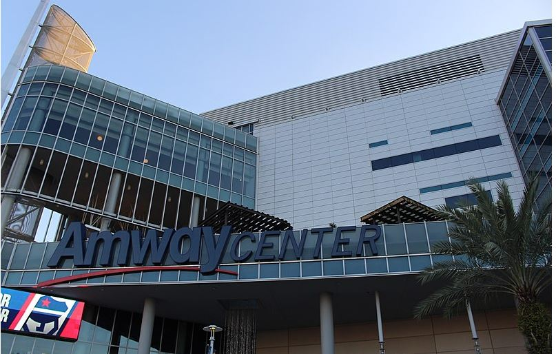 Amway Center, home of the Orlando Magic